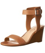 Jessica Simpson Women's Cristabel Wedge Sandal Buff 6.5 B(M) US - $66.48