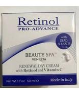 Retinol Pro-Advance Beauty Spa Renewal Day Cream With Retinol & Vitamin ... - $18.69