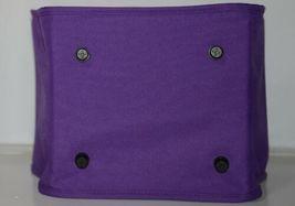 WB Brand Marketminipur Mini Purple Market Tote Padded Handle image 3