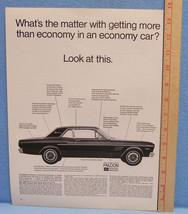 Vintage1967 Magazine Ad for the Falcon Futura Sports Coupe - $5.93