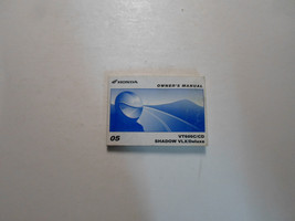 2005 Honda VT600C/CD Shadow VLX/Deluxe Owners Owner Operators Manual NEW - $59.35