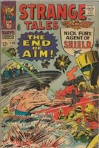 Strange Tales #149 ORIGINAL Vintage 1966 Marvel Comics Nick Fury SHIELD - $49.49