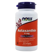 NOW Foods Astaxanthin Cellular Protection 4 mg., 90 Softgels - $20.79