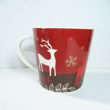 Starbucks Ceramic 2009 large Coffee Mug Cup Holiday Fall Winter - $14.84