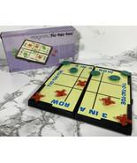 TIC TAC TOE Magnetic Travel Mini Games Road Trip Tic-Tac-Toe X's O's - $9.89