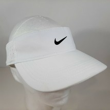 Nike Aerobill Golf Tennis Visor White Unisex Hat 919826-100 - $9.89