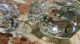 """Lenox Glass Cats Figurines from Estate 6"""" & 3.5"""" Hand Painted image 6"""