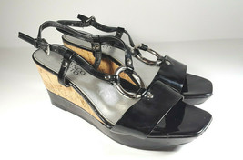 Franco Sarto Women's Peep Toe Wedge Shoes Size 7 Medium Width Heels Pump... - $36.95