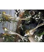 3 Bethany Lowe Vintage Glass Bird Ornaments  - $29.99