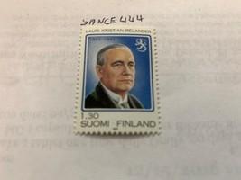Finland L.K. Relander politician 1983 mnh stamps - $1.20