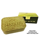 Hand Made Mint and Olive Oil Soap 3.5oz./100gr. For All skin types - $8.50