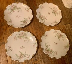 Antique Theodore Haviland China Limoges France Patent Applied For Salad Plate - $39.99