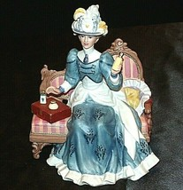 Miss Albee Award Figurine with Box Avon AA20-2155 Vintage