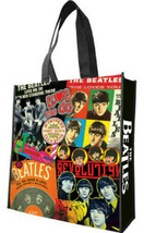 NEW THE BEATLES ALBUM COVERS LARGE RECYCLABLE SHOPPING BAG    - £9.98 GBP