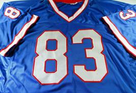 ANDRE REED / NFL HALL OF FAME / AUTOGRAPHED BUFFALO BILLS CUSTOM JERSEY / JSA image 2