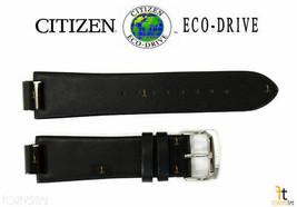 Citizen Eco-Drive AU1065-07E 23mm Black Leather Watch Band Strap S086892 - $89.95
