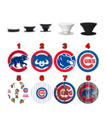 Pop up Phone Holder Expanding Stand Finger Grip Mount Chicago Cubs - $11.99