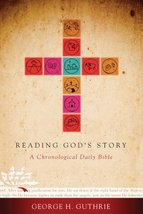 Reading God's Story, Hardcover: A Chronological Daily Bible [Hardcover] ... - $11.87