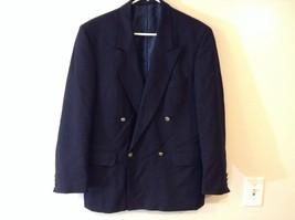 Van Dyke Men's Navy Blue Pure New Wool Sport Coat