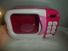 Toys R US Pink Pretend Play Microwave Oven  - $9.85