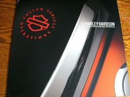 2012 Harley Davidson CVO Custom Vehicle Operations Brochure Catalog HUGE - $31.68