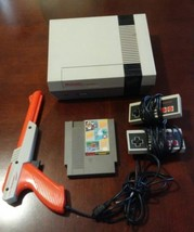 Nintendo NES System Console with Mario Game Zapper Gun & a New 72 Pin Bu... - $120.00