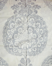 Pottery Barn Lucianna Medallion Percale King Sham Gray New - $37.83