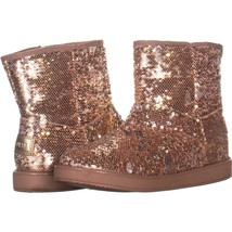 G By Guess Asella Short Winter Boots 668, Medium Pink Texture, 7.5 US - $28.79