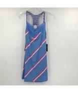 NWT Nike Court Womens Royal Purse Laser Crimson Tennis Dress Sz Large Sl... - $84.14