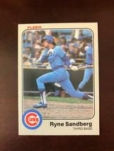 1983 Fleer #507 Ryne Sandberg Chicago Cubs Rookie Card RC MINT - $11.99