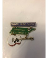 Country Music Capitol Nashville  Pin - $9.50