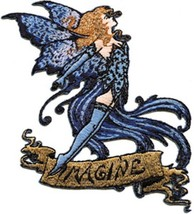 Amy Brown's Imagine Fairy Embroidered Patch, NEW UNUSED - €6,64 EUR