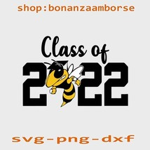 2022 graduate svg, 2022 hornet graduating senior svg. Png, Dxf - $1.99