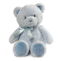 "Baby GUND My First Teddy Sound Toy Stuffed Animal Plush, Blue, 10"" - $14.41"
