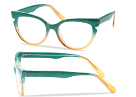 Reading Glasses Elegant Cat Eye Women Multi Color Eyeglasses - $17.12+