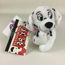 "Disney Store 101 Dalmatian Penny Mini Bean Bag 8"" Plush Stuffed Vintage with Tag - $17.77"