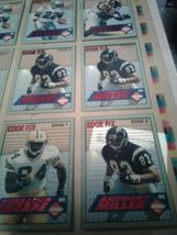 1994 COLLECTOR'S EDGE FOOTBALL - UNCUT CARDS / POSTER (jew) image 5