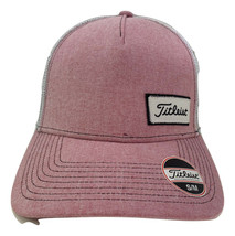 NEW! TITLEIST West Coast Collection Fitted Cap-Pink/White [S/M] - $47.39