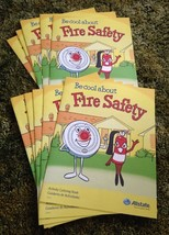 Be Cool About Fire Safety Allstate Insurance  Coloring Book 10 Pack - $6.92