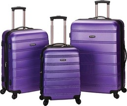 Rockland Melbourne 3 Piece Luggage Set $480 - NEW - FREE SHIPPING - in P... - $184.09