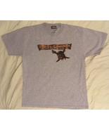 Disney Pirates of the Caribbean Dead Man's Chest Gray Grey Tee T-Shirt XL - $24.99