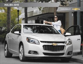 2015 Chevrolet MALIBU sales brochure catalog US 15 Chevy LT LTZ - $6.00