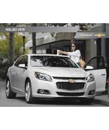 2015 Chevrolet MALIBU sales brochure catalog US 15 Chevy LT LTZ - $6.00