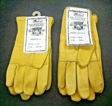 ANGORA Goatskin ROPER GLOVES Genuine Leather LADIES Made in USA (LAST PAIR) - $13.99