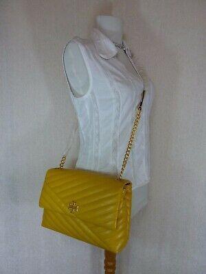 NWT Tory Burch Daylily Kira Chevron Flap Shoulder Bag $528 image 11
