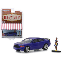2013 Dodge Charger Super Bee Metallic Purple with Black Stripes and Woma... - $16.88