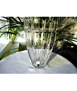 "Mikasa Reflections Pattern 8 1/4"" Tall Crystal Flower Vase - $20.79"