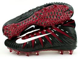 Nike Alpha Menace Elite TD Red Crimson Black Football Cleats Size 15 AJ6... - $59.99