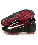 Nike Alpha Menace Elite TD Red Crimson Black Football Cleats Size 15 AJ6... - $59.99
