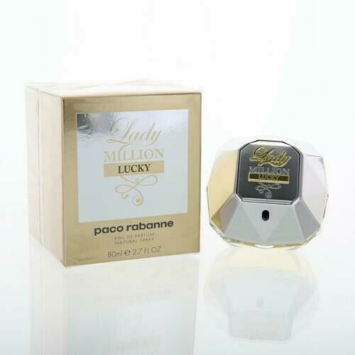 Primary image for Lady Million Lucky by Paco Rabanne Eau De Parfum Spray 2.7 oz for Women
